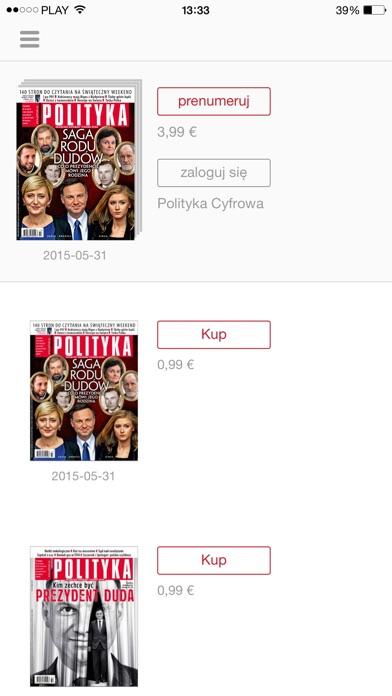 Polityka review screenshots