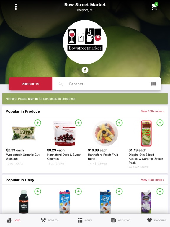 Bow Street Market Online-ipad-0