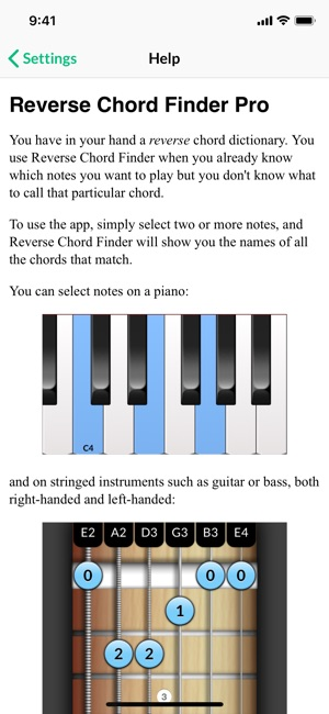 Reverse Chord Finder Pro on the App Store