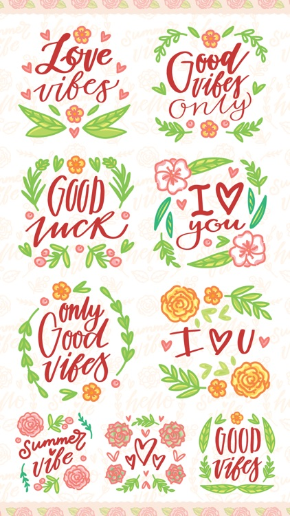 Flowers Calligraphy!