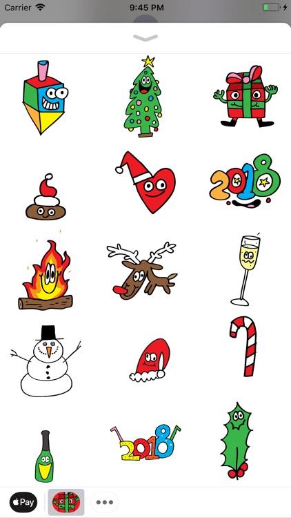 Holidaze Animated Sticker screenshot-3
