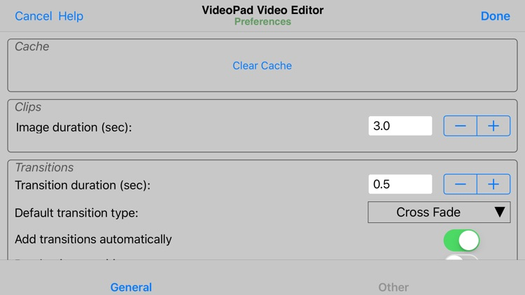 VideoPad Master's Edition screenshot-4