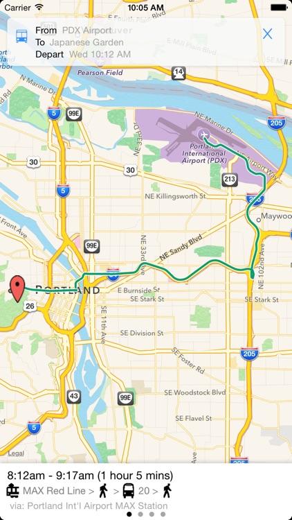 Transit Tracker - Portland screenshot-3