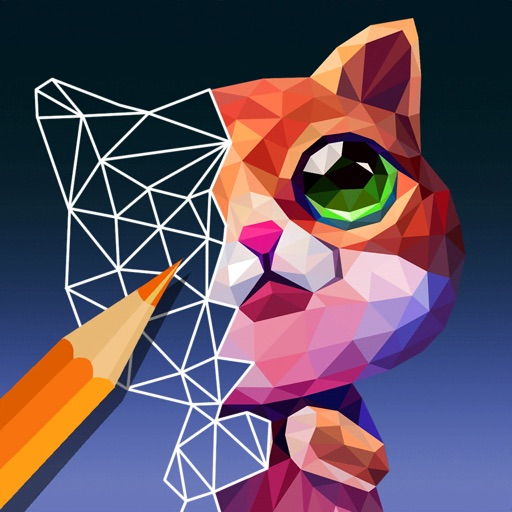 PolyGO - LowPoly Coloring Book