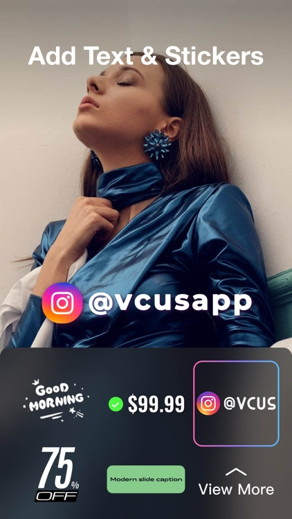 VCUS- Story & Video Editor