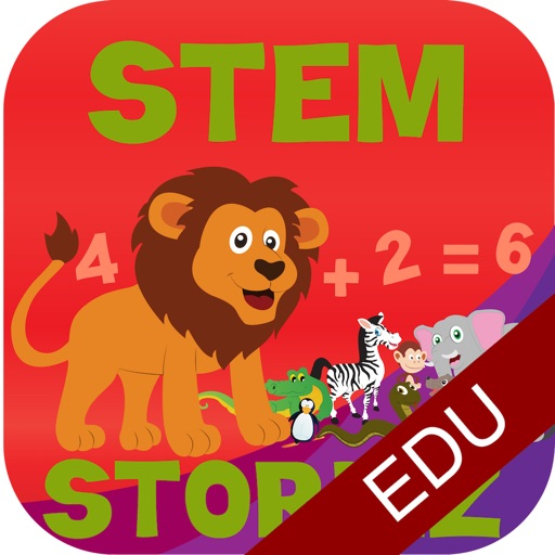 STEM Storiez-Counting Zoo EDU icon