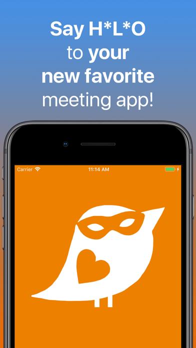 HLO - dating & hook up online Screenshot on iOS