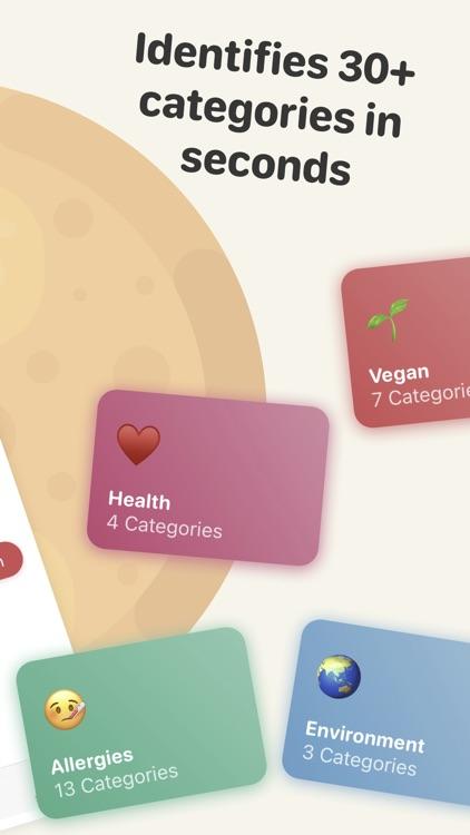 Soosee - Allergy & Vegan Scan