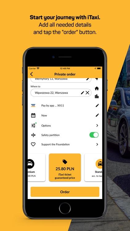 iTaxi - The Taxi App screenshot-3