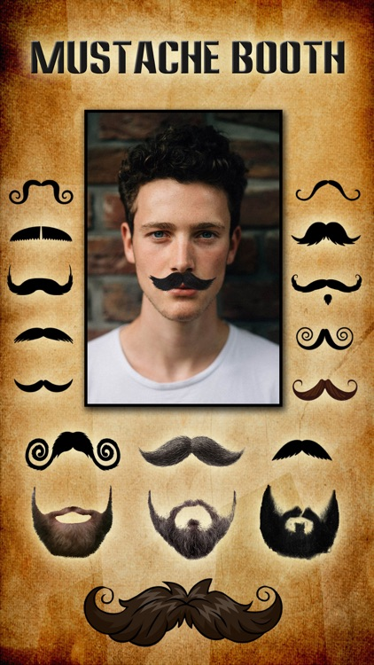 Mustache Booth - Grow a Beard