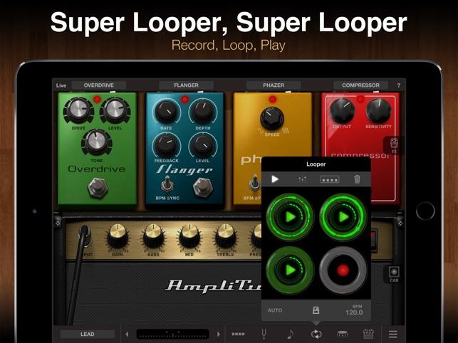 AmpliTube for iPad Screenshot