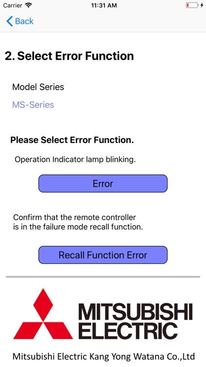Error Code Scan