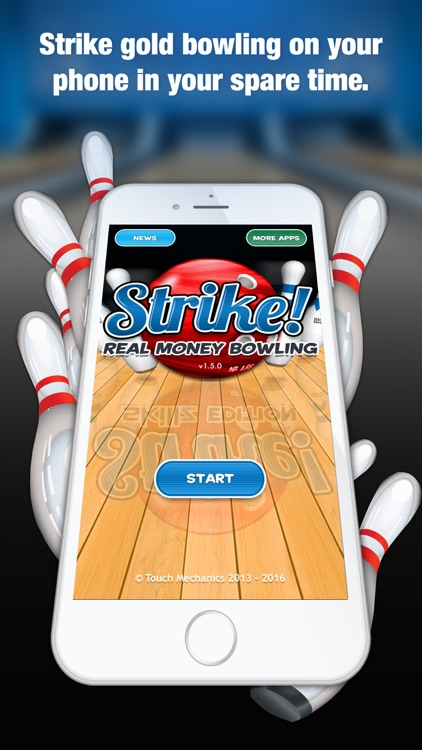 Strike! Real Money Bowling screenshot-0