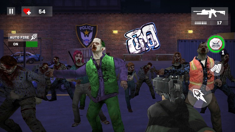 Dead Creeps: FPS Zombies Halt screenshot-4