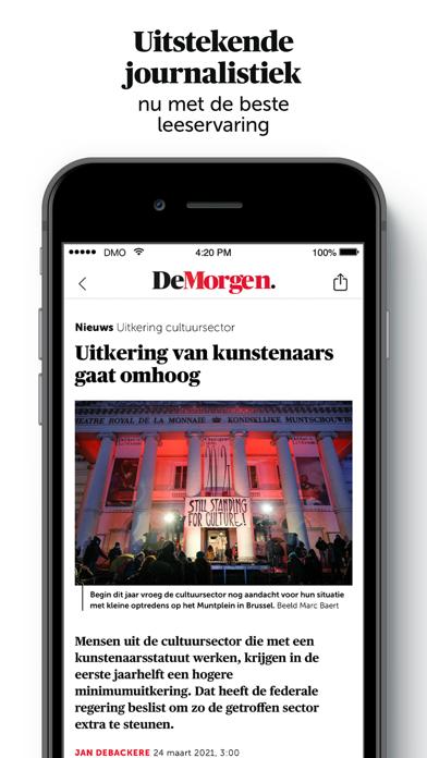 De Morgen - Nieuwsのおすすめ画像5