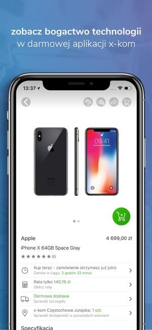 x-kom - inteligentny wybór Screenshot