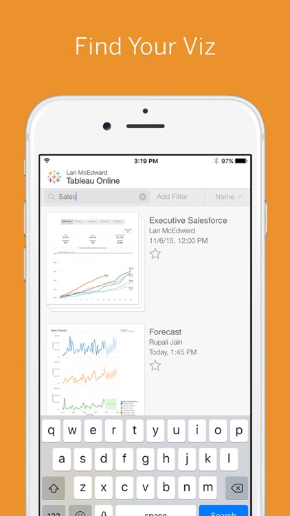Tableau Mobile for BlackBerry screenshot-4