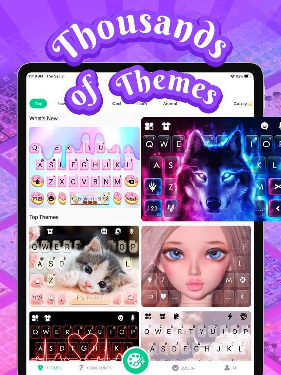 iPad Image of Kika Keyboard for iPhone, iPad
