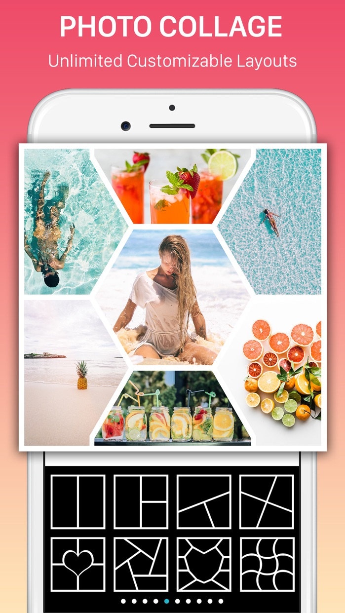 Collage Maker, Mixgram Editor Screenshot