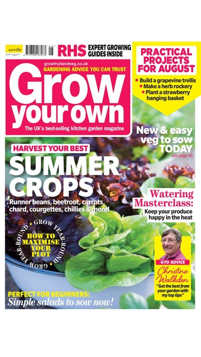 Grow Your Own Magazine review screenshots
