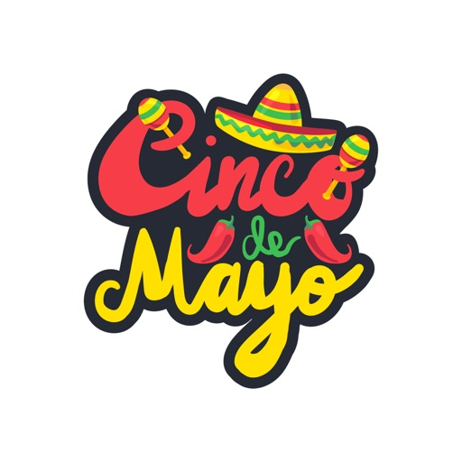 Cinco de Mayo Stickers Pro