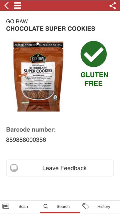 The Gluten Free Scanner FULL app image