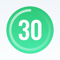App Icon for 30 Day Fitness - Home Workout App in Bulgaria App Store
