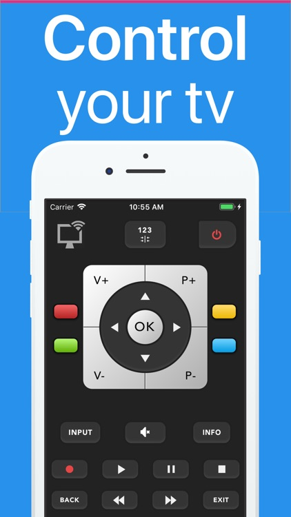 Toshy : remote for smart tv