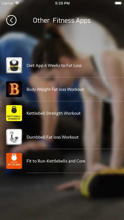 Body Weight Fat loss Workout screenshot-5