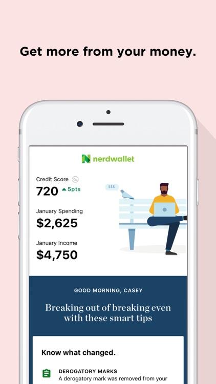 NerdWallet: Credit Score, Cash screenshot-0