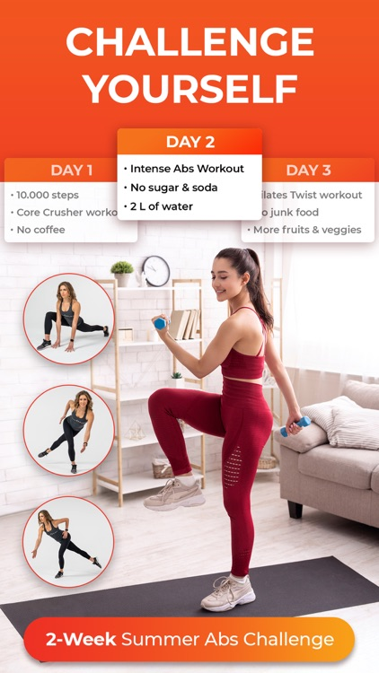At Home Workouts by Daily Burn screenshot-3