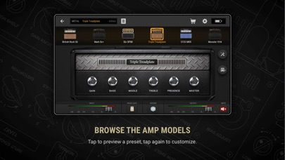 BIAS AMP 2 for iPhone Screenshots