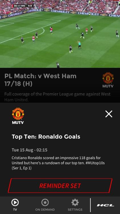 MUTV - Manchester United TV screenshot-6