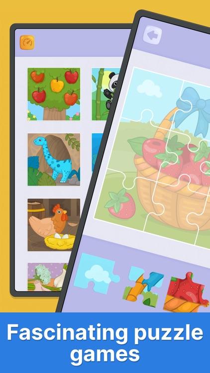 Bimi Boo puzzle games for kids screenshot-3
