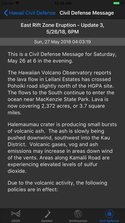 Volcano Updates screenshot-8