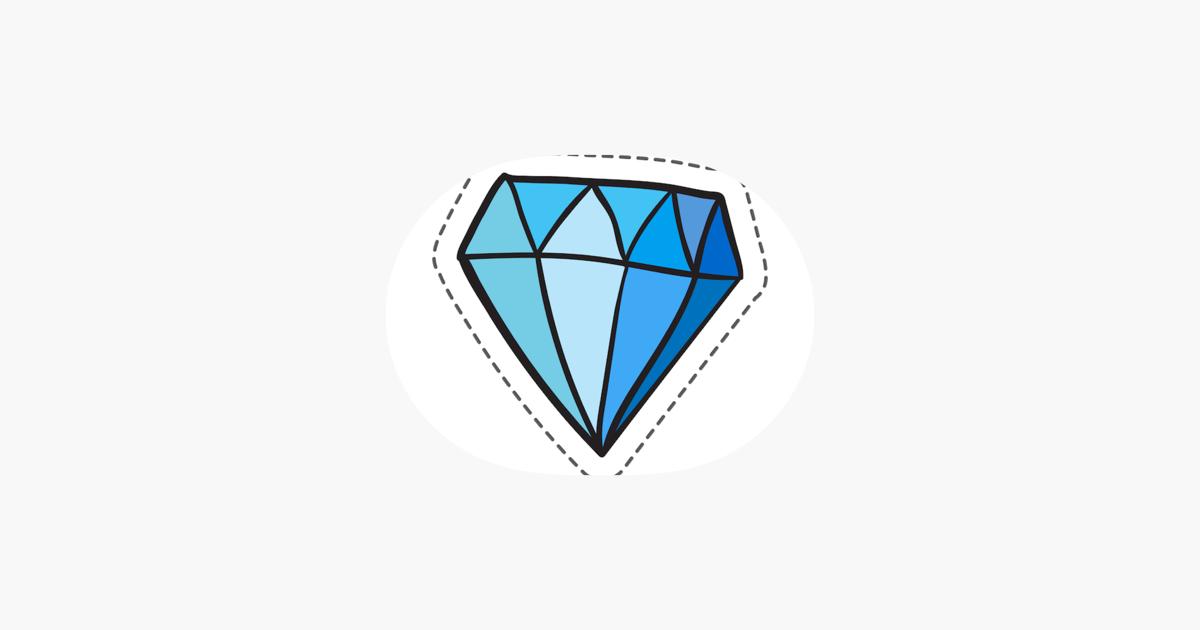App Store: <b>Diamond</b> Stickers Pro
