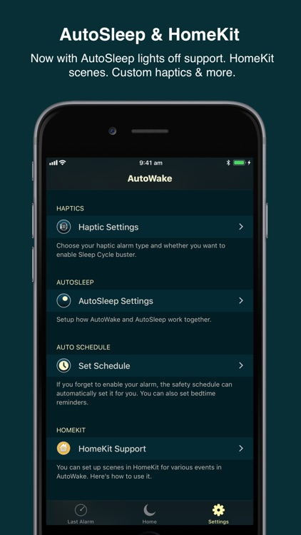 AutoWake. Smart Sleep Alarm screenshot-4