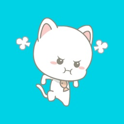 MiMi White Kitten Animated