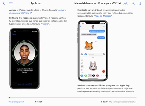 manual del usuario del iphone para ios 11 4 by apple inc on apple books rh itunes apple com iPhone Owners Manual iPhone User Manual in French
