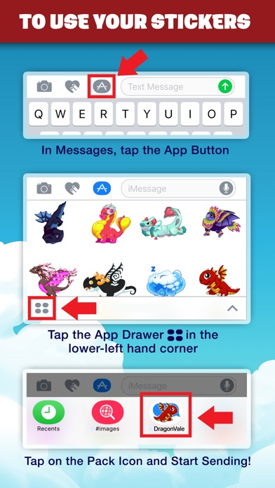 DragonVale Stickers screenshot 3