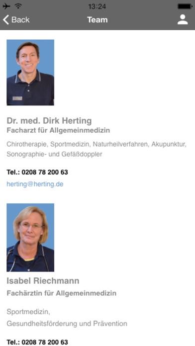 Praxis Dr. Herting screenshot three