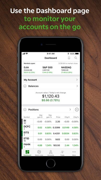 TD Ameritrade Mobile screenshot-0