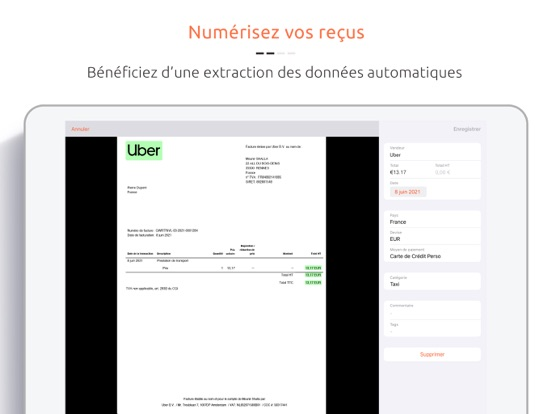 Screenshot #5 pour Jenji - Notes de Frais