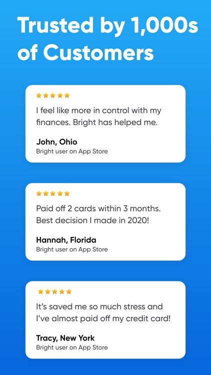 Bright - Pay Off Debt Smarter screenshot-5