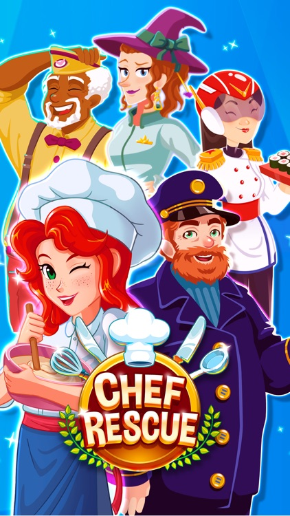 Chef Rescue - Cooking Frenzy screenshot-0