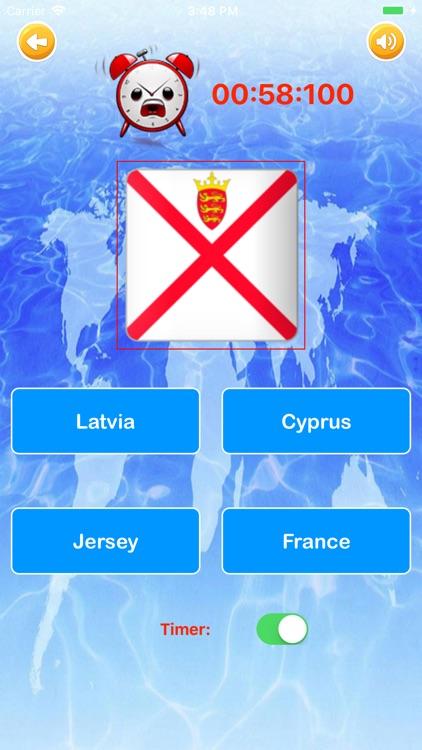 Learn Countries Flags Quiz screenshot-5