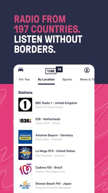 TuneInRadio: Music & Sports screenshot-4