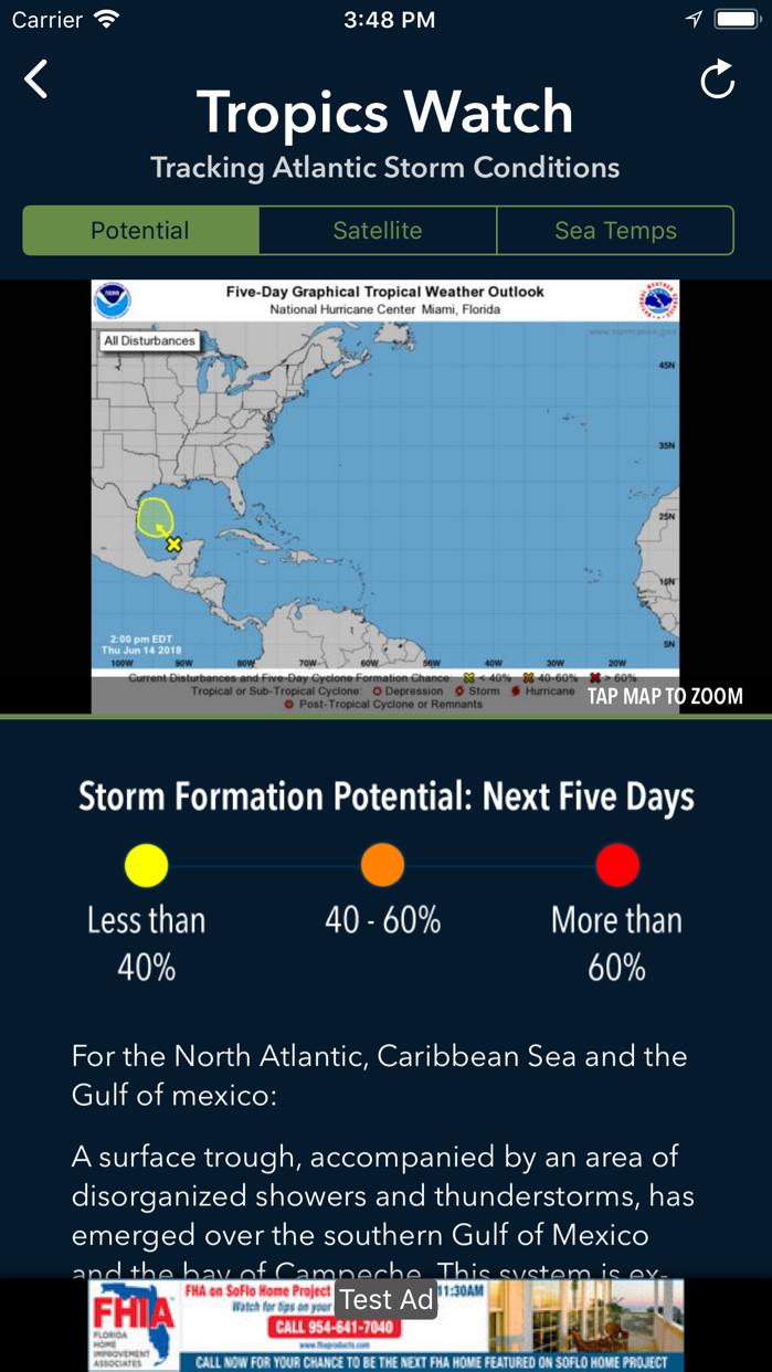 Max Tracker Hurricane WPLG Screenshot