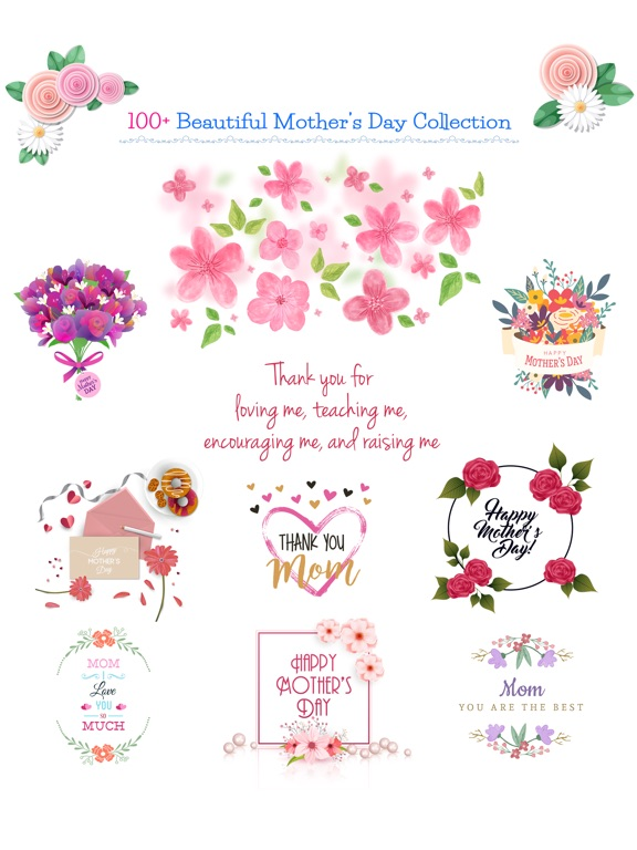 All about Mother's Day Sticker screenshot 6