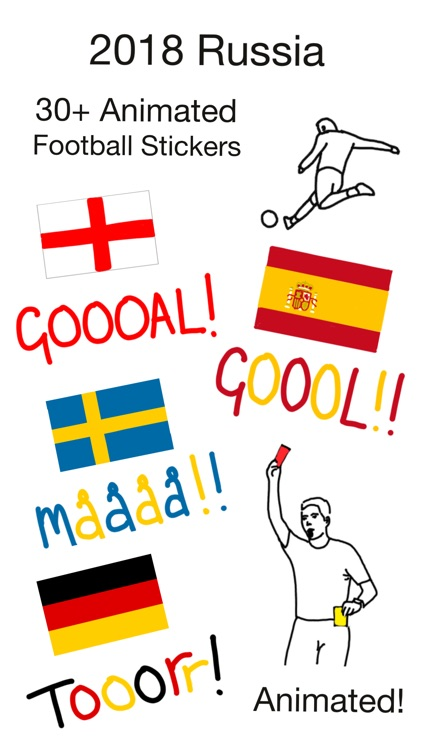 Goalmoji Football Stickers